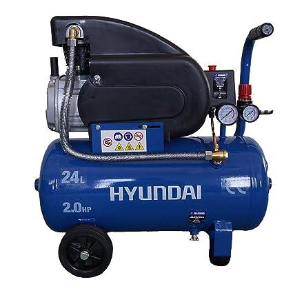 Hyundai 65600 1500W compresor de aire - Compresores de aire (2800 RPM, 8 bar