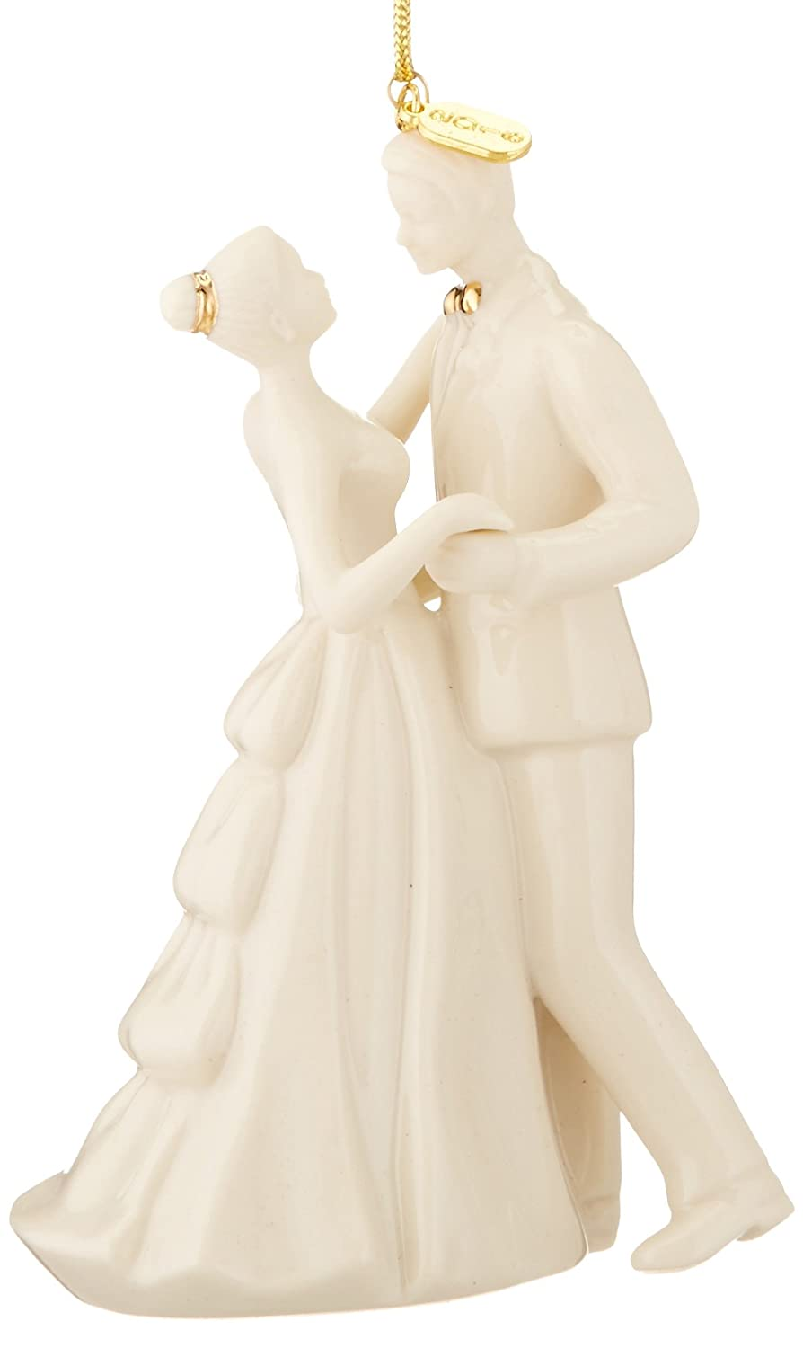 """Lenox 2016""""Always and Forever Bride and Groom Ornament"""