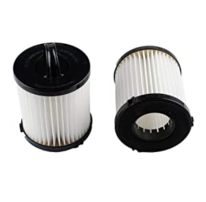 Podoy DCF-21 Vacuum Filter for Compatible with Eureka AS1000 EF91B Airspeed Washable Reusable Vacuum Filter Cup Filter Replacement (Pack of 2)