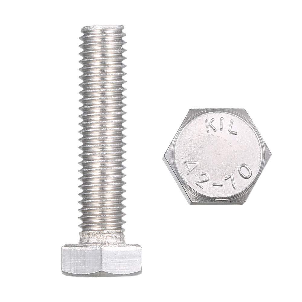 Tornillo hexagonal exterior de acero inoxidable DIN933 304