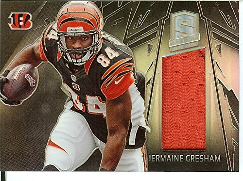 Football NFL 2013 Spectra Materials #38 Jermaine Gresham MEM /299 Bengals from Spectra