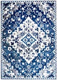 Southwestern Blue Transitional Diamond Rugs 3×5 Scatter Rugs , 3-Feet 3-Inch by 4-Feet 7-Inch Review