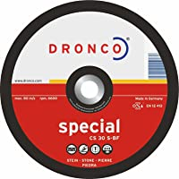 Dronco, slijpschijf 125 x 6 x 22,23, CS 30 S, voor steen en beton, slijpschijf (10 stuks)