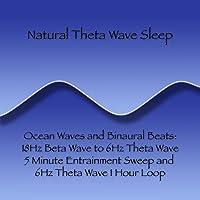 Ocean Waves and Binaural Beats: 18Hz Beta Wave to 6Hz Theta Wave 5 Minute Entrainment...