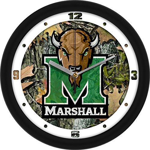 - SunTime NCAA Marshall University Thundering Herd Wall Clock - Camo