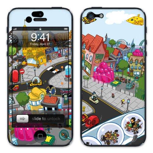 Diabloskinz B0081-0046-0040 Vinyl Skin für Apple iPhone 5/5S Cheeseton