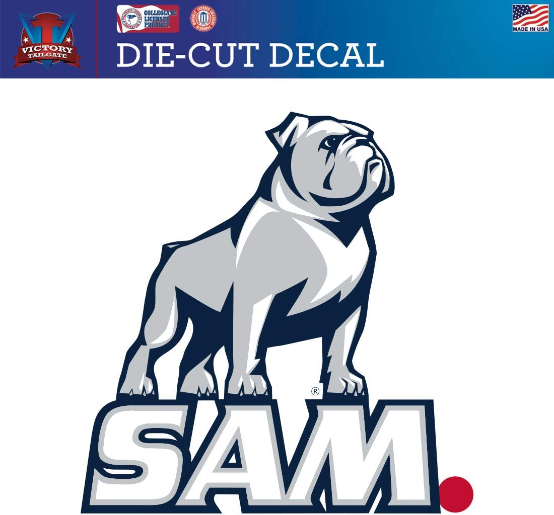 Victory Tailgate Samford University Bulldogs Die-Cut Vinyl Decal Logo 1