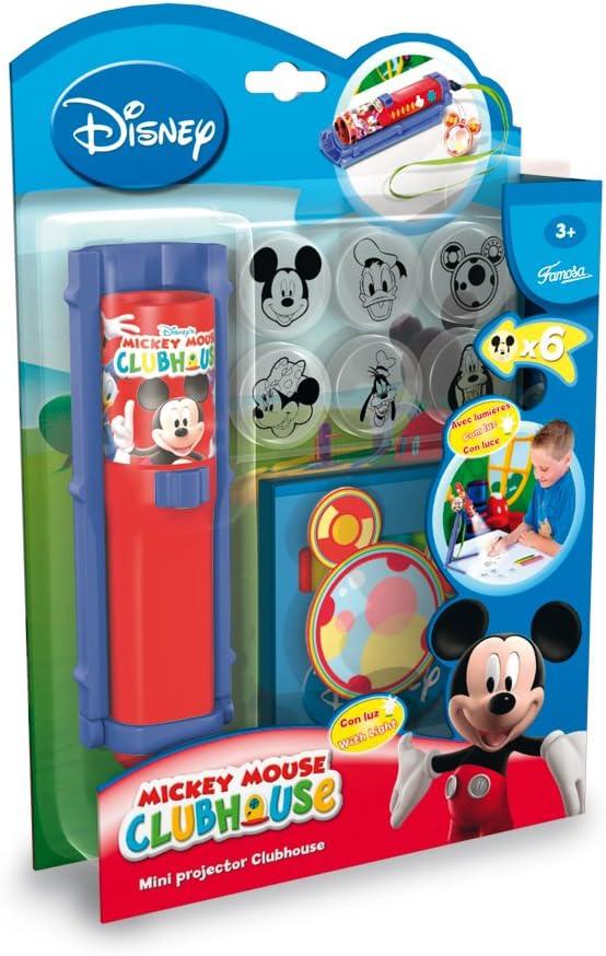 Famosa 700007263 - Mini proyector para Dibujar, diseño Mickey ...
