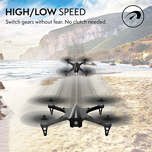 """61axPj6OQXL - GoPro Compatible HD Camera Drone - """"Force1 F100"""" Brushless Motor Drone for Beginners and Pros Extends Drones Flight Time (Camera Not Included)"""