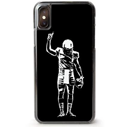 5ba0b8bf14fcc Football iPhone 7/8 Case | Number One Player | Black