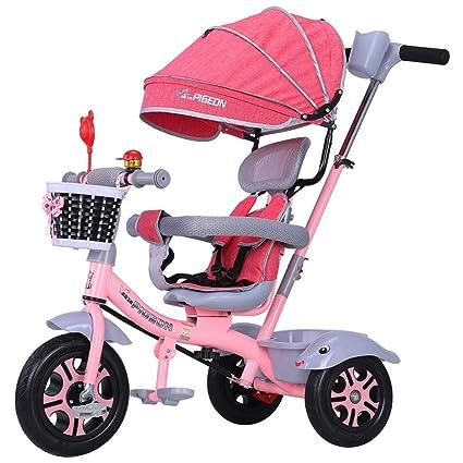 SANLUNCHE Triciclo Bebé Aprendizaje Pedales Carros Niños ...