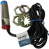 Taiss 1pcs LJ18A3-8-Z/BY M18 Proximity Sensor PNP No(Normally