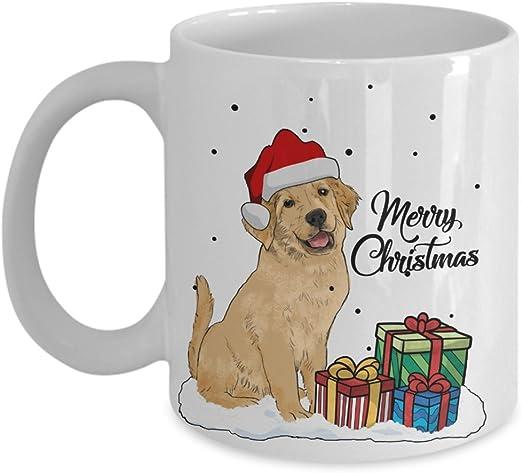 Amazon.com: Kiwi estilos feliz Navidad perro dorado ...