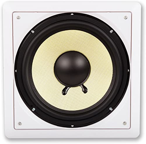 Acoustic Audio HDS10 10 inch In-Wall Passive Subwoofer