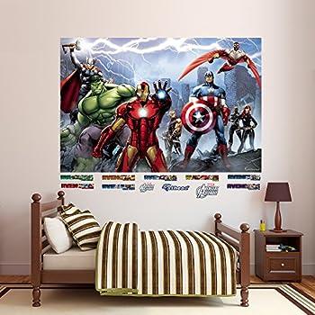 roommates rmk2240gm avengers assemble