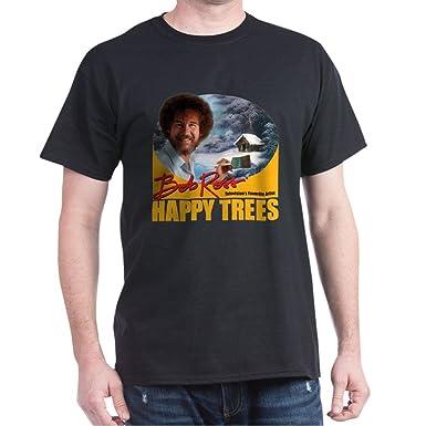0f334de72ea CafePress Bob Ross Classic 100% Cotton T-Shirt
