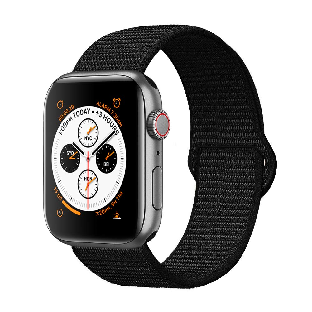 Corki para Correa Apple Watch 38mm 40mm, Nylon Reemplazo Sport Banda para Apple Watch iWatch