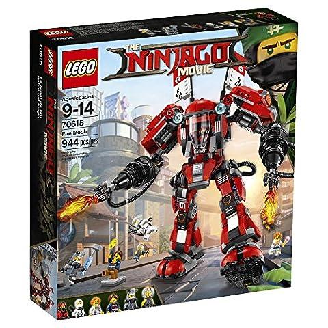 LEGO Ninjago Fire Mech 70615 Building Kit (944 Piece) (Legos Movie For Boys)