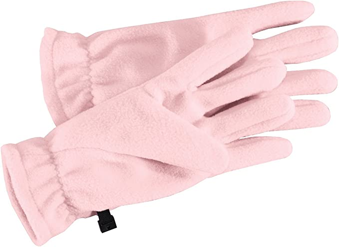 Port Authority Handy Clip Loop Cold Weather Polyester Fleece Gloves GL01 L//XL