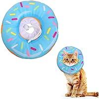 Xinzistar Cat Cone Collar Recovery Collar Pet Kitten Zachte Beschermende Halskraag Na Chirurgie Verstelbare Genezing…