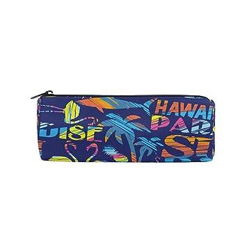Estuche de lápices de colores Hawaii tropicales de verano para niños ...