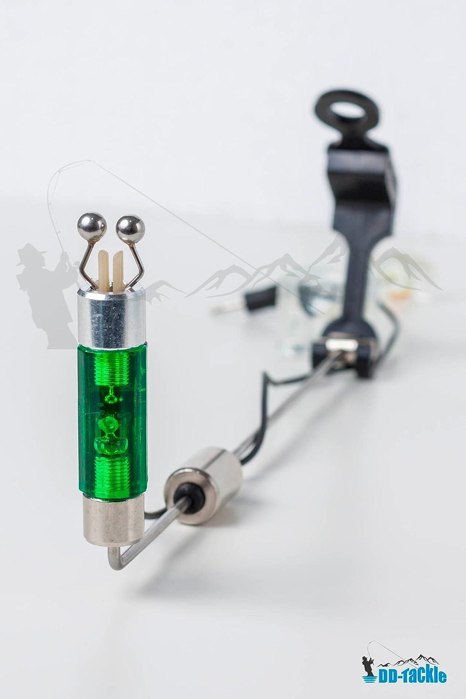 DD-Tackle LED Swing 3 er Set H/ängebissanzeiger Bissanzeiger Drop Off Pendelbissanzeiger H/änger Bait Alarm