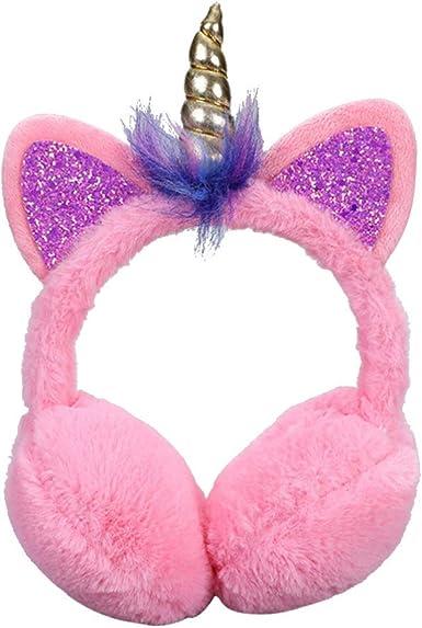 Gifts Treat Cache-oreilles pour filles avec cache-oreilles en peluche color/ée