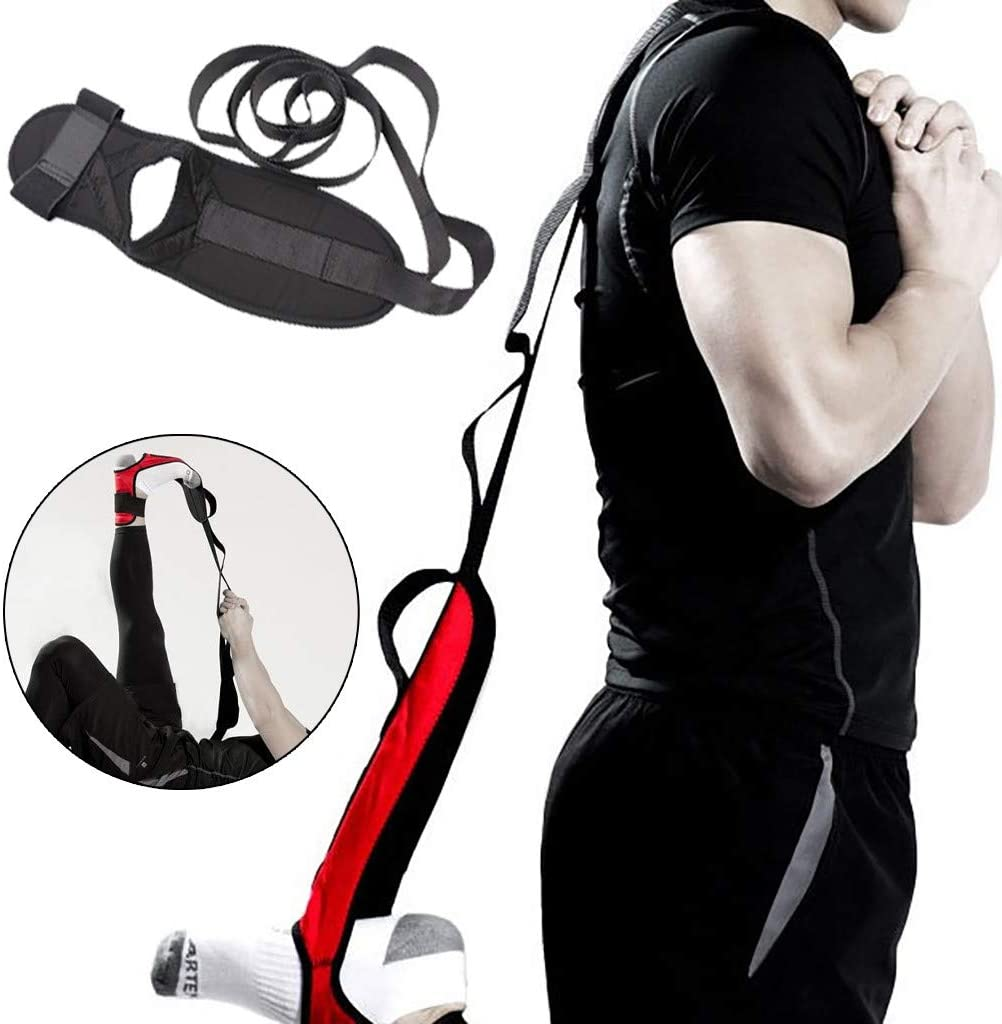 Yoga Pilates Leg Strap Ballet Ankle Ligament Stretch Band Therapy Belt 2020