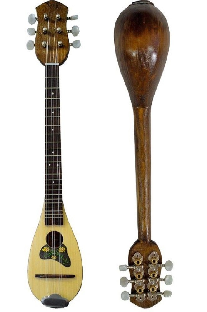 Baglama Baglamas Greek Traditional Music Instrument Handmade Small Bouzouki M0063