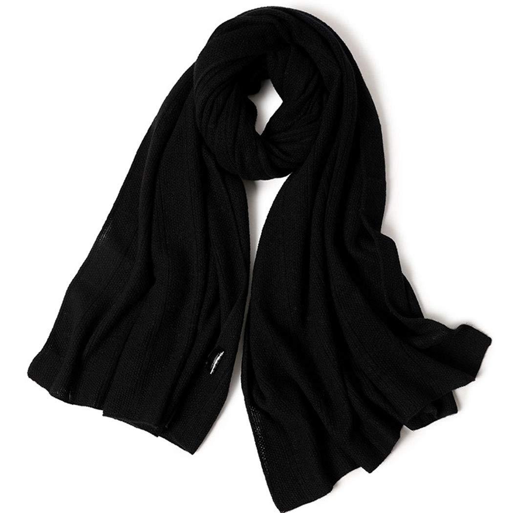カシミヤ織のスカーフ秋と冬の新しいカシミヤニットスカーフ冬暖かい厚い柔らかい快適な女性スタイルのファッションショール70 * 180 cmブラックブラウン (色 : Brown, サイズ さいず : 70*180cm) 70*180cm Brown B07M857G5D