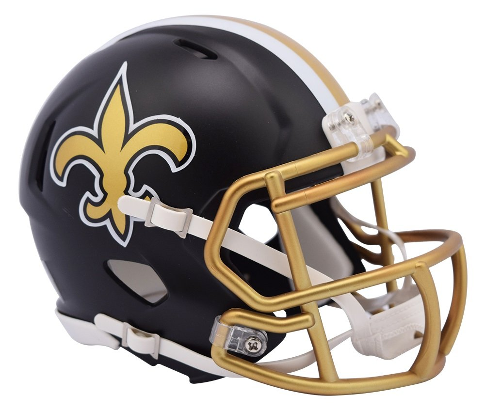 Riddell NFL NEW ORLEANS SAINTS Blaze Alternate Speed Mini Helmet 8053669