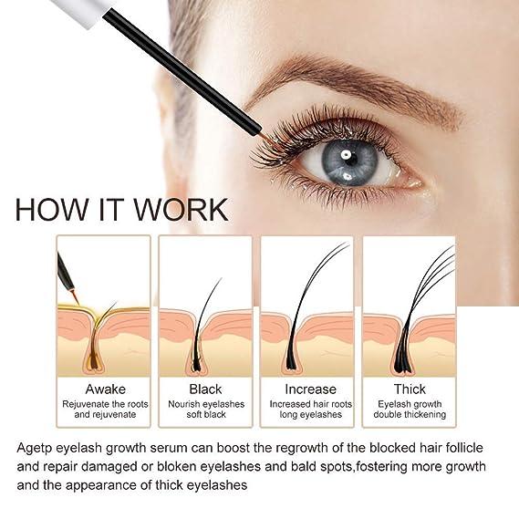 Eyelash Growth Serum Compath Eyebrow Serum Eyelash Enhancer Serum