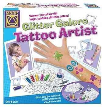 Creative Glitter Galore Juego De Diseño De Tatuajes Amazones