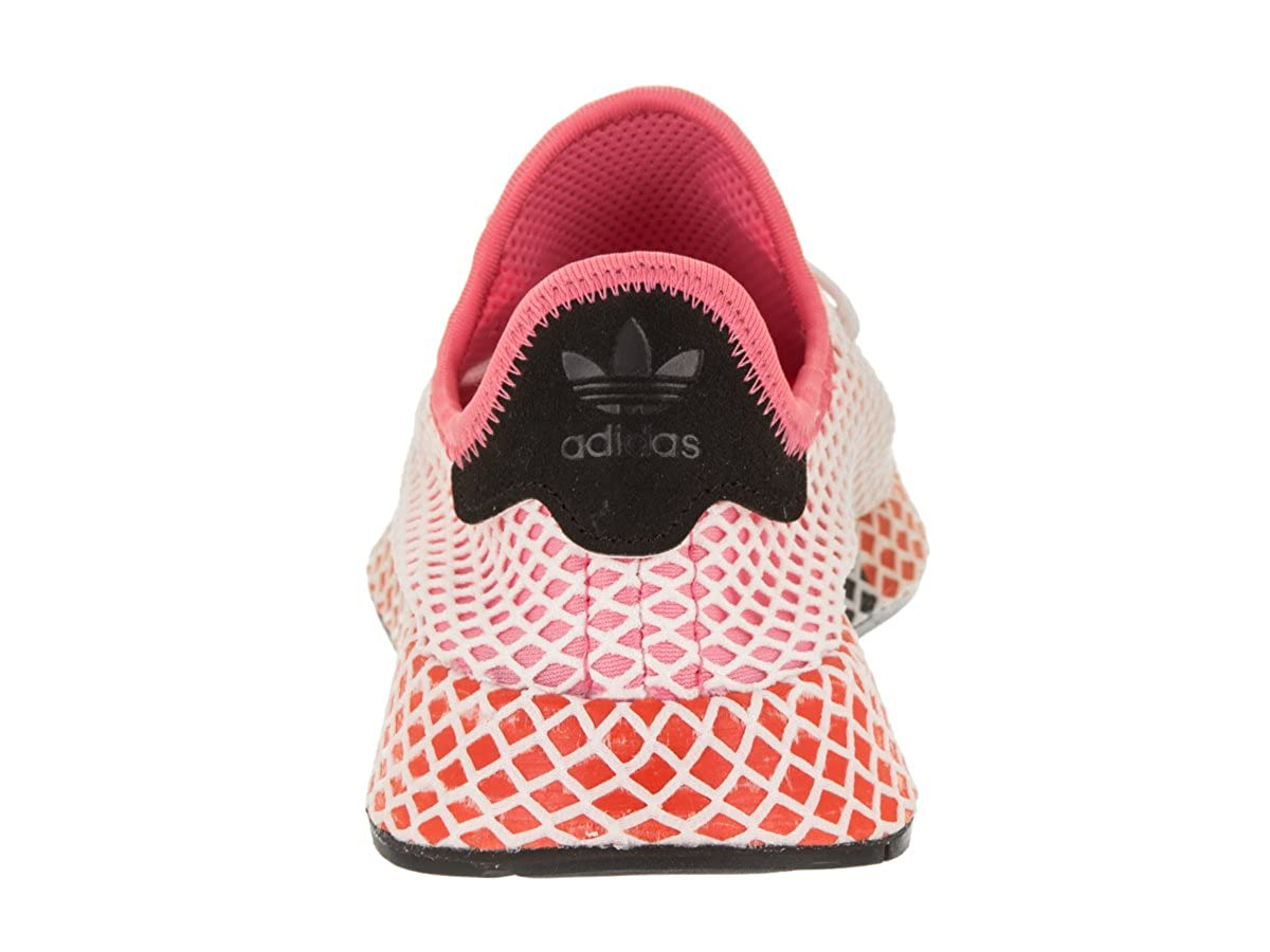 new products 499cf 934ac adidas Women s Deerupt Runner Originals chalk Pink chalk Pink Bold Orange  Running Shoe 6.5 Women US  Amazon.co.uk  Shoes   Bags