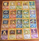 Pokemon 60 Card Lot GUARANTEED HOLOS, RARES And First Edition All Original, 1st/2nd sets