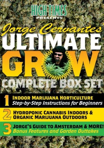 HIGH TIMES presents Jorge Cervantes Ultimate Grow Complete Box Set by Music Video Distributors