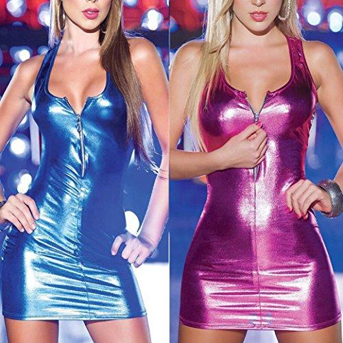 Amazon.com: Womens Sexy Patent Leather Zipper Piece Lingerie Set,Dainzuy Artificial Siamese Underwear Bodysuit (XXXXL, Black 1): Health & Personal Care