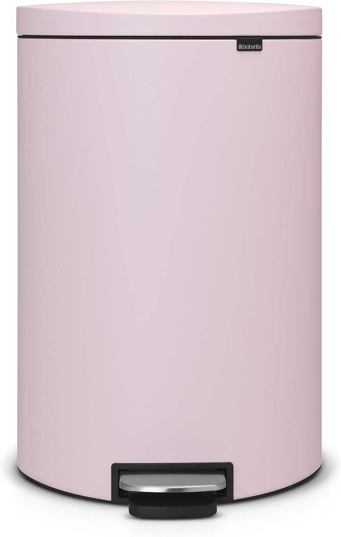 Color Menta Brabantia 103902 Ahorra Espacio Cubo Interior de pl/ástico extra/íble Cubo de Basura 40 litros Flatback
