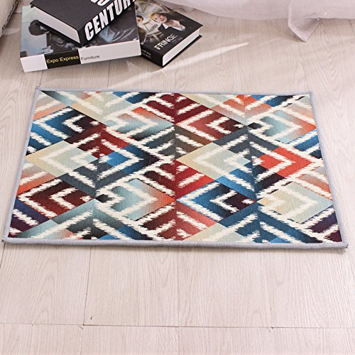 HOMEE Carpet-the Living Room Mat is Simple Waterproof and Washable. the Kitchen Pad Can Be Washed Machine,Luan,4060Cm,,5080Cm,Luan by HOMEE