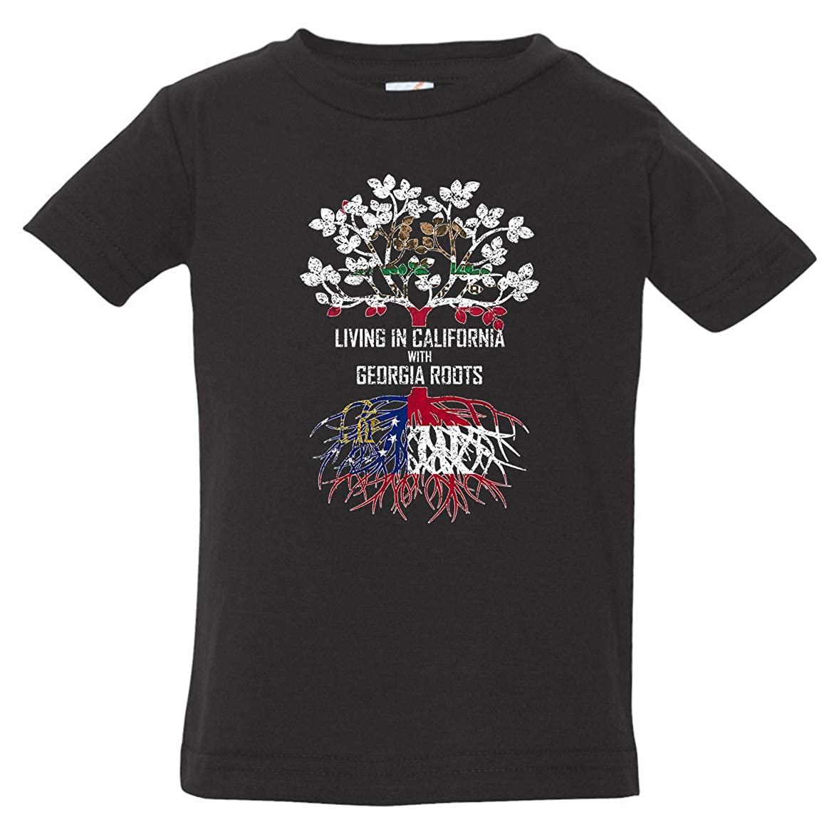 Tenacitee Babys Living in California Georgia Roots Shirt