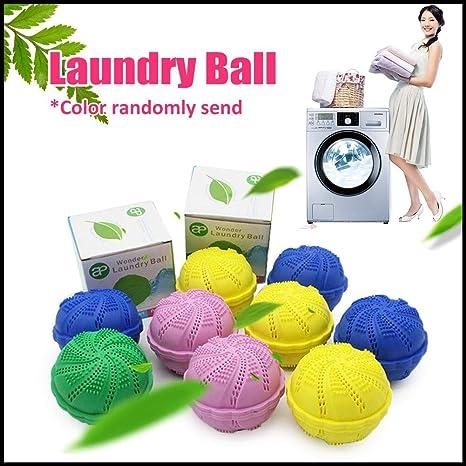 Bola de lavado ecológica para lavadora, mineral natural y ...