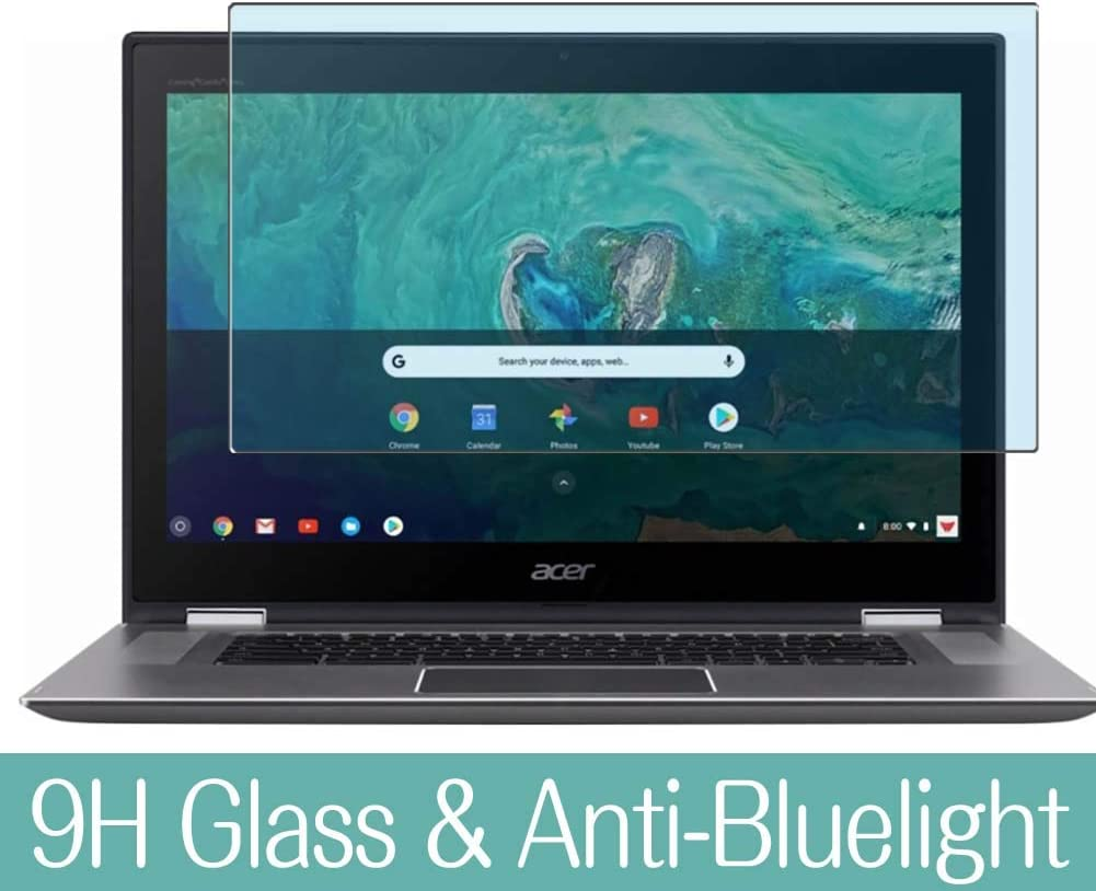 Synvy Anti Blue Light Tempered Glass Screen Protector for Acer Chromebook Spin 15 CP315-1H 15.6