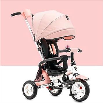 Carrito de bebé Triciclo de niños Plegable 1-3-6 años ...