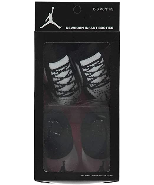 c6fa597cb Amazon.com: Nike Jordan Infant Boy's 2-Pair Booties, 0-6 Months: Sports &  Outdoors