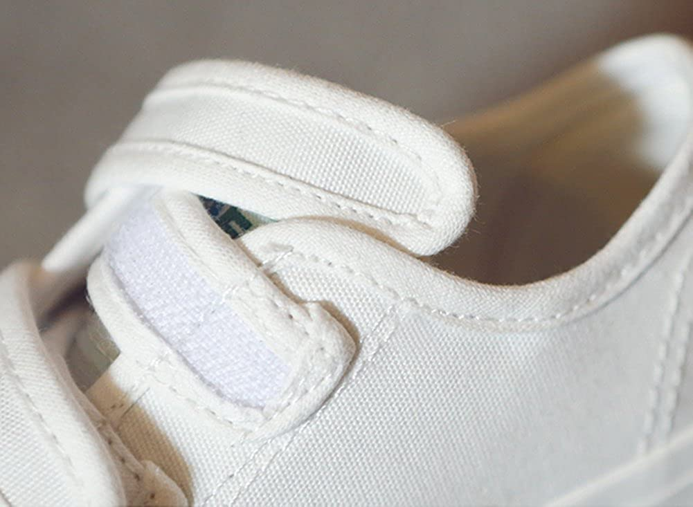 Baby//Toddler//Little Kid//Big Kid iDuoDuo Kids Classic Low Top School Canvas Shoes Anti-Collision Sport Sneakers