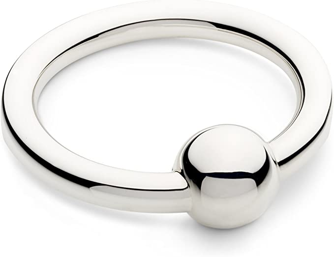 Cunill Classic Barbell Rattle Sterling Silver