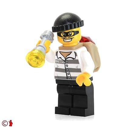 Buy Lego City Police Minifigure Jail Prisoner 18675 Open Shirt