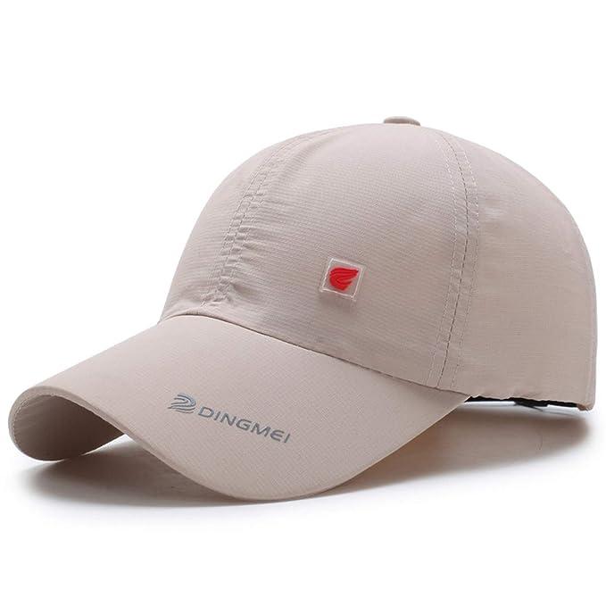 90401b57fdb Amazon.com  FUZE Summer Mesh Cap Baseball Caps for Men Fashion Mens  Accessories Hat with Z-5118 Beige  Clothing