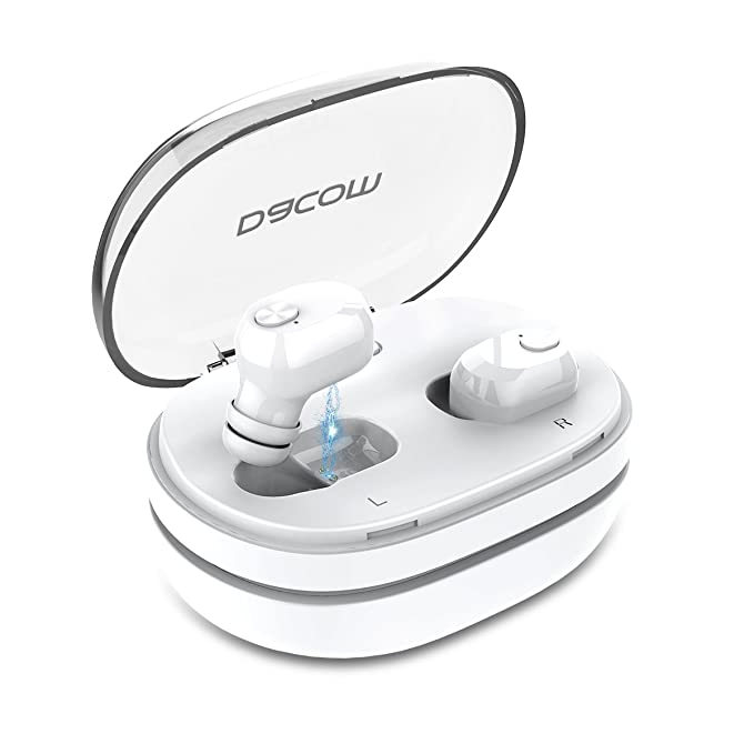 461d923a662 True Wireless Earbuds,Dacom Best TWS Bluetooth Earphones Mini in-Ear Bass  Headphones with