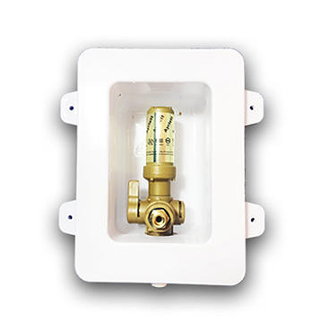 1//4 Brass Threads UPONOR Connection and Arrester Ayrlett FR 3282 Pre-Assembled Fire Rated Ice Box with 1//4 Turn Poly Alloy Valves